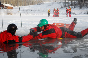 ice rescue nfpa emergency